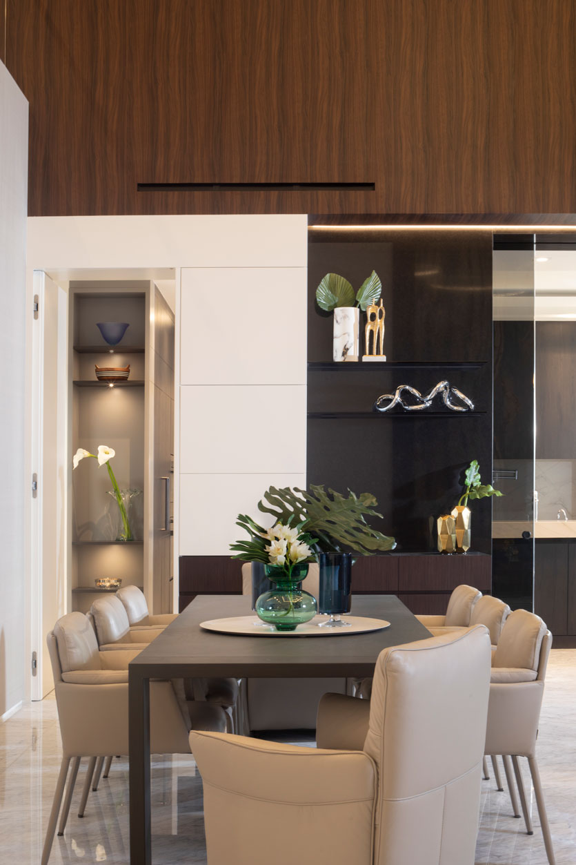 Hallandale New Construction - Dining Room Design