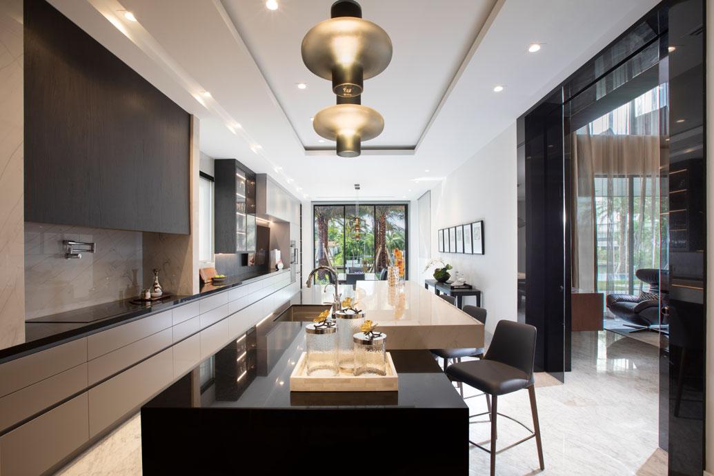 Hallandale New Construction - Kitchen Design