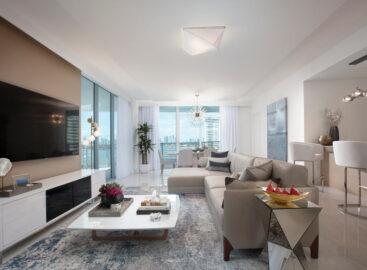 Condo Renovation Living Room Area