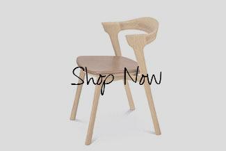 Ethnicraft Oak Bok Chair