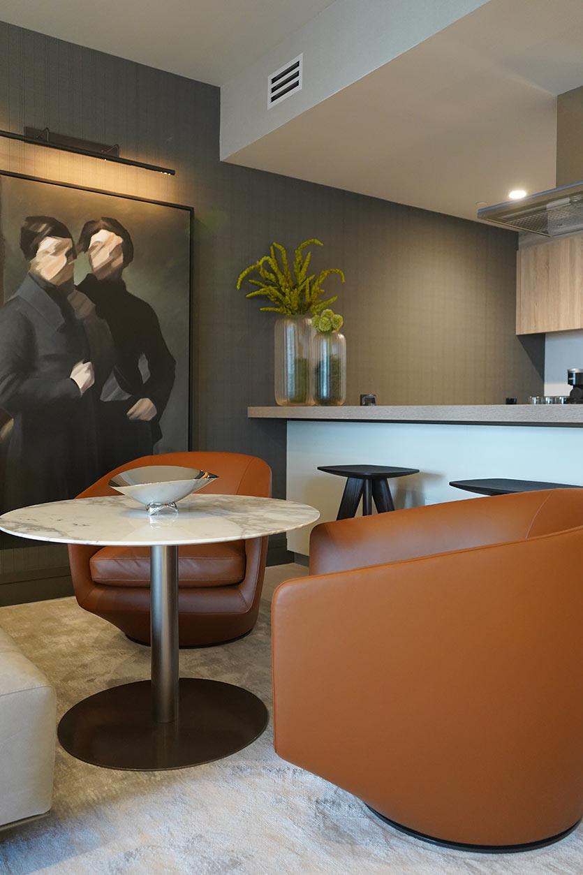 Bachelor Pad Lounge - Brickell Condo Design
