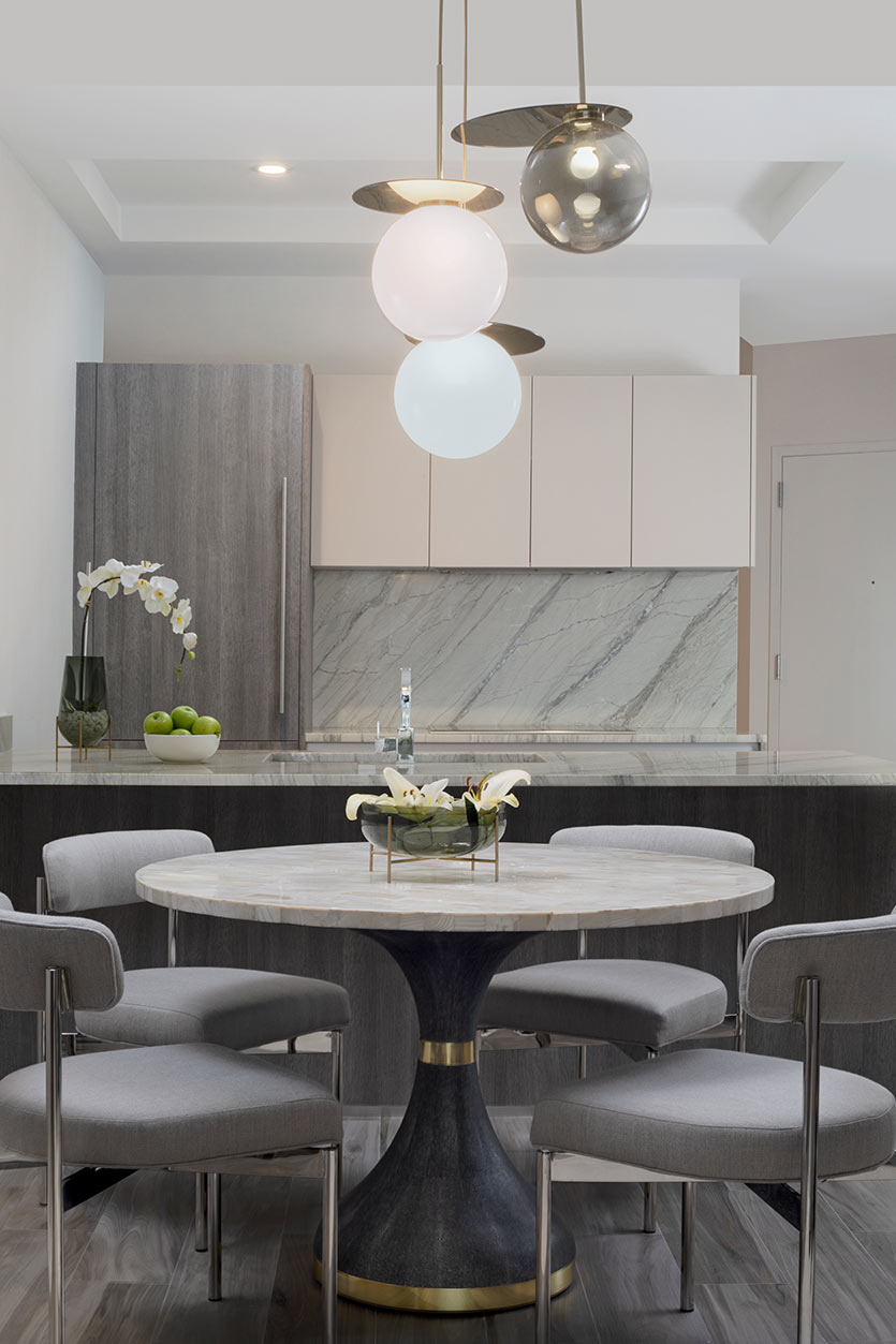 Dining Room Design Ideas with Round Dining Tables